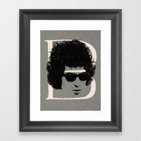 B is for Bob Framed Art Print
