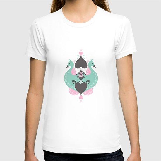 Pretty Peacocks T-shirt