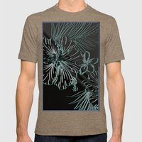 Night In The Tropics Mens Fitted Tee Tri-Coffee SMALL