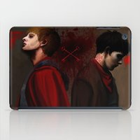 Two Sides Of The Same Co… iPad Case