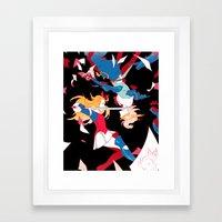 D's Journal Framed Art Print