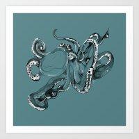 Octopoda Art Print