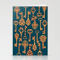 Yellow And Red Skeleton … Stationery Cards