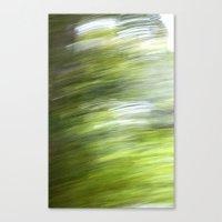Rainy Day Motion 1 Canvas Print