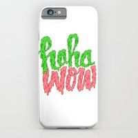 iPhone & iPod Case featuring HAHA WOW by Chris Piascik