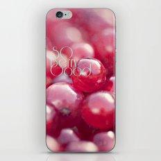 SO Berry Good iPhone & iPod Skin