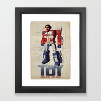 The Toy Poster Framed Art Print
