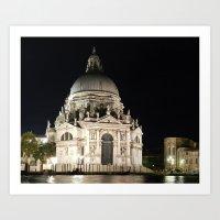 Santa Maria della Salute, Venice Art Print