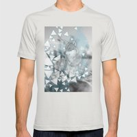 Winter Spirit Mens Fitted Tee Silver SMALL