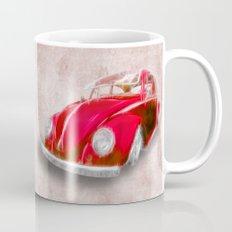 VW Beetle Red Mug