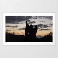 The Guardian Of The Even… Art Print