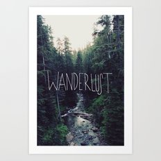 Wanderlust: Rainier Cree… Art Print