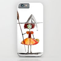 iPhone & iPod Case featuring Little Witch by Kevin Van Gysel