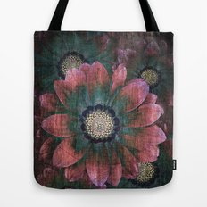 hippie flowers Tote Bag