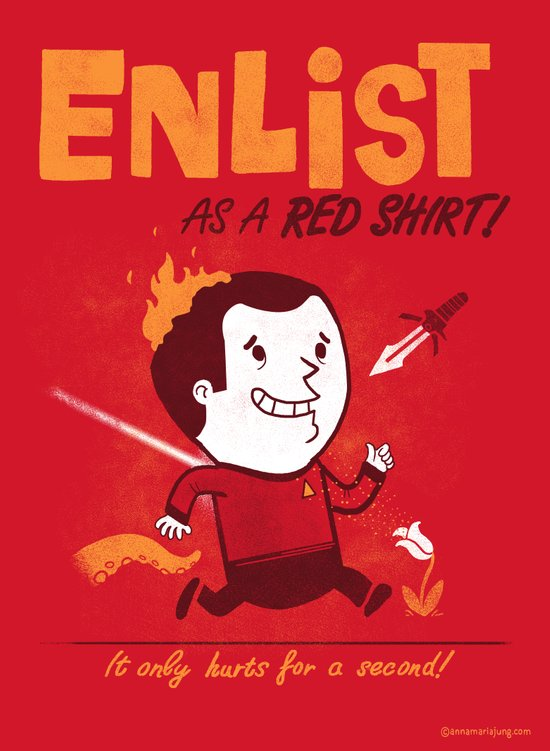 Enlist! Art Print