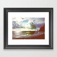 Big Sur Horizons Framed Art Print