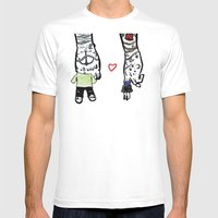 Inkling Of Love  Mens Fitted Tee White SMALL