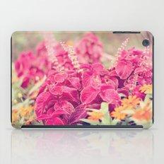 Garden Sunset  iPad Case