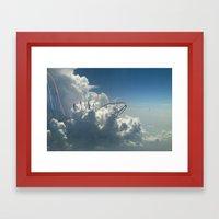 Cloud Park  Framed Art Print