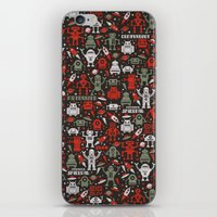 Vintage Robots iPhone & iPod Skin