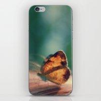 butterflyyyy iPhone & iPod Skin