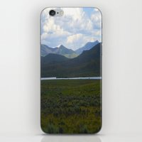 Green Hills iPhone & iPod Skin
