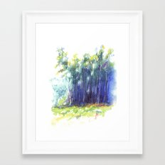 Scenes from the Forest III Framed Art Print