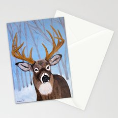 Winter Buck Stationery Cards