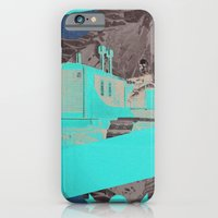 iPhone & iPod Case featuring Red Valley by WeLoveHumans