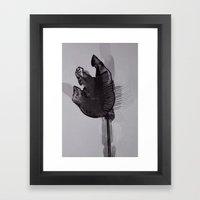 leaf eleven Framed Art Print