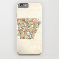 Arkansas by County iPhone 6 Slim Case