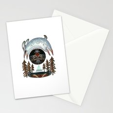 The Fleeting Full Moon Stationery Cards
