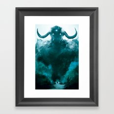 The Colossus Framed Art Print