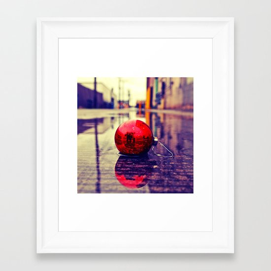 Urban Yuletide Framed Art Print