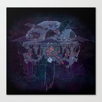 Vampire Jams Canvas Print