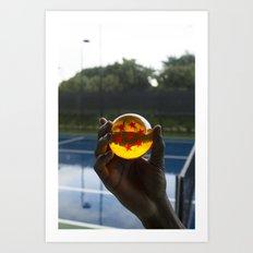 TENNIS(DRGN)BALL. Art Print