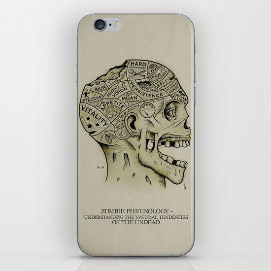 Zombie Phrenology iPhone & iPod Skin