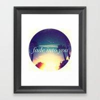 So Tonight That I Might … Framed Art Print