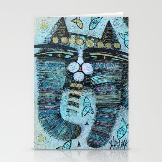 HAPPY CAT Stationery Card