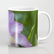 Tropical Pink Flower Mug