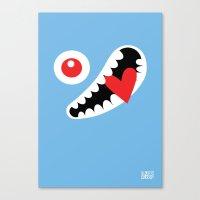 EYE LOVE Canvas Print