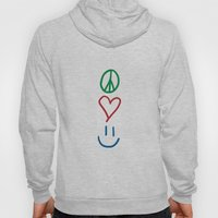 Peace, Love, And Happine… Hoody