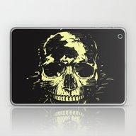 Scream (gold) Laptop & iPad Skin