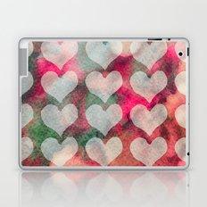 Watercolor Hearts Laptop & iPad Skin