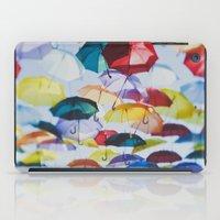 Umbrellas iPad Case