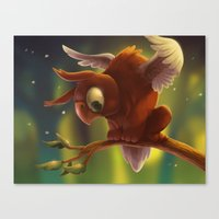 Baby Griffin Canvas Print