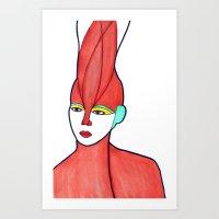 Aura (previous age) Art Print