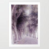 Keep On Walking Art Print