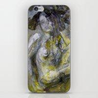 Nude In Yellow iPhone & iPod Skin