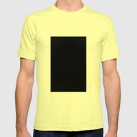 Robert Smith (Black #7) Mens Fitted Tee Lemon SMALL